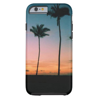Palm Tree Silhouette (iPhone 6/6s Case) Tough iPhone 6 Case