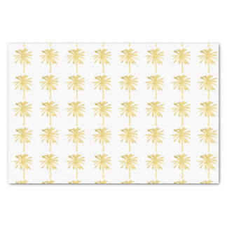Palm Tree Silhouette Wedding Tissue Paper