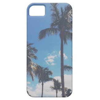 Palm Tree Skyline Barely There iPhone 5 Case