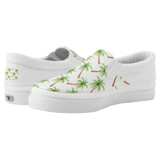 Palm Tree Slip On Shoes