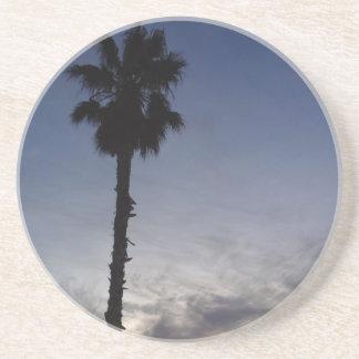 Palm Tree Sunset Drink Coaster
