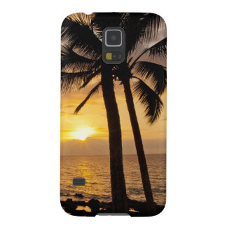 Palm tree sunset galaxy s5 case