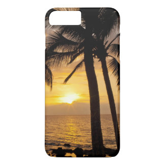 Palm tree sunset iPhone 8 plus/7 plus case