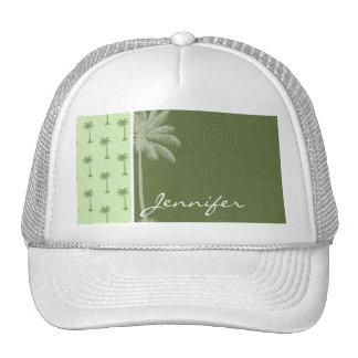 Palm Tree; Tropical Trucker Hat