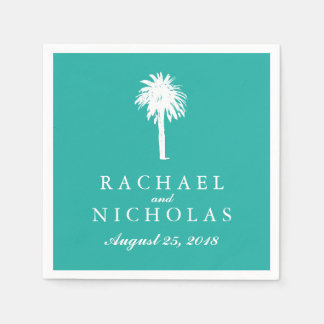 Palm Tree Tropics | Wedding Disposable Napkin
