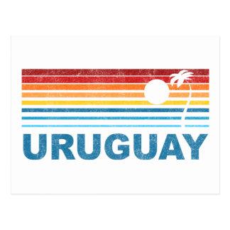 Palm Tree Uruguay Postcard