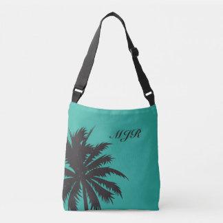 Palm Tree with Monogram Crossbody Bag
