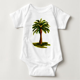 Palm Tree Yellow The MUSEUM Zazzle Gifts T-shirt