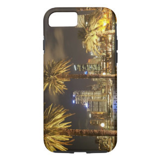 Palm Trees and CBD at Night, Sydney, New South iPhone 8/7 Case