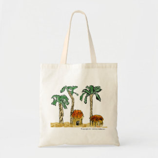 Palm Trees and Paradise Tote Bag