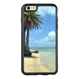 Palm Trees and Sand Scenic Island OtterBox iPhone 6/6s Plus Case