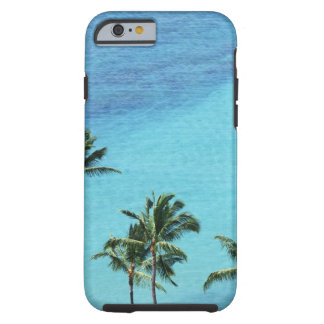 Palm trees and surface of the sea tough iPhone 6 case