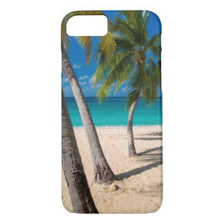 Palm trees and turquoise water along Seven-Mile iPhone 8/7 Case