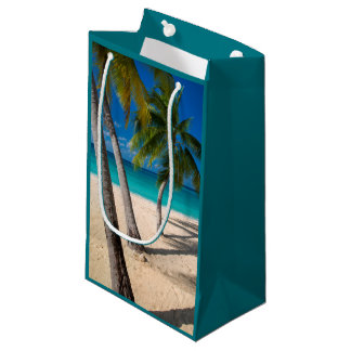 Palm trees and turquoise water along Seven-Mile Small Gift Bag