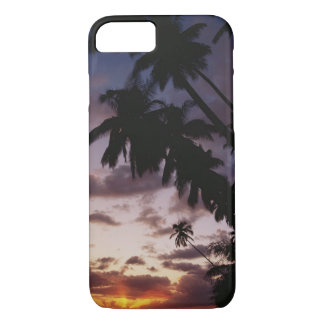 Palm Trees at sea iPhone 8/7 Case