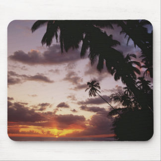 Palm Trees at sea Mouse Mat