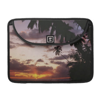 Palm Trees at sea Sleeve For MacBooks