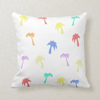 Palm Trees Awesome Throw Pillow