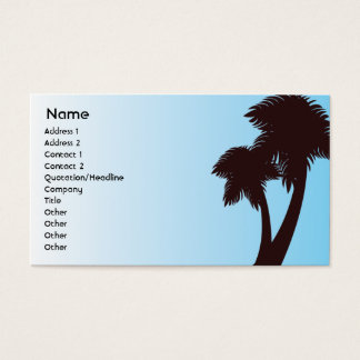 Palm Trees - Business Business Card