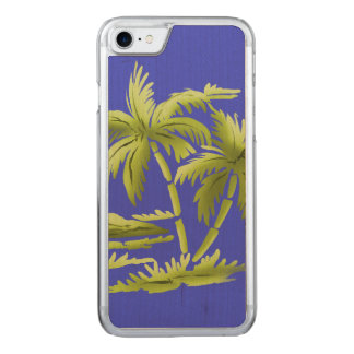 Palm Trees Carved iPhone 8/7 Case