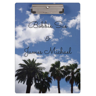 Palm Trees Clipboard