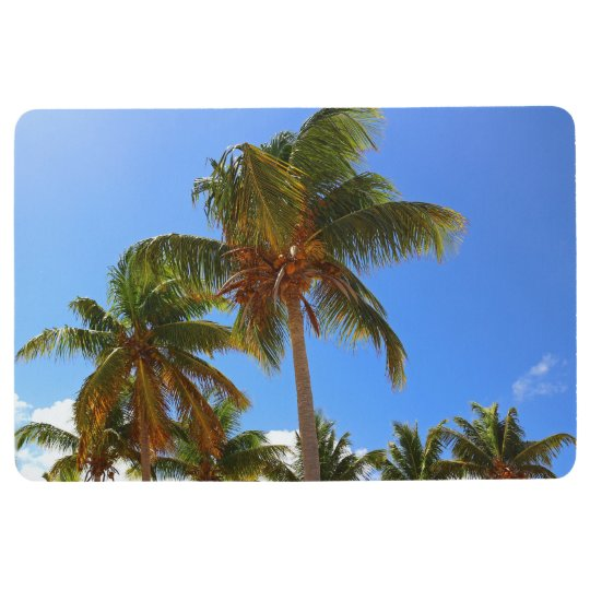 Palm Trees Floor Mat