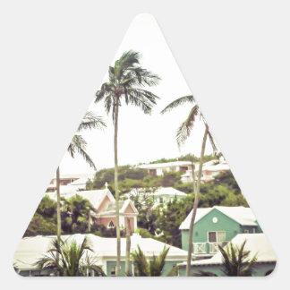 Palm Trees in Bermuda Triangle Sticker