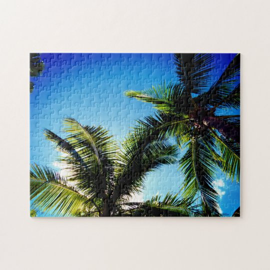 Palm Trees Jigsaw Puzzle