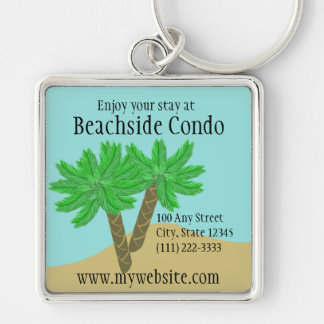 Palm Trees Key Ring