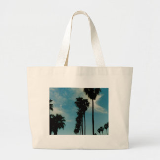 Palm Trees Large Tote Bag