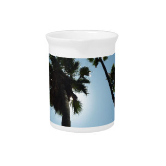 Palm Trees Los Angeles Hollywood Usa Pitcher