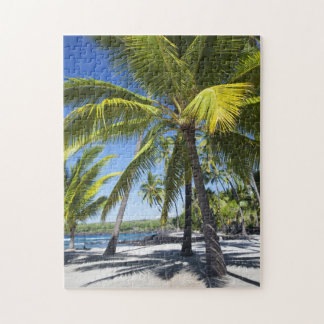 Palm trees, National Historic Park Pu'uhonua Jigsaw Puzzle