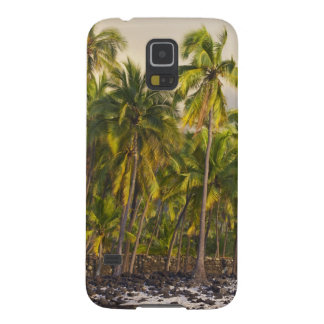 Palm trees, National Historic Park Pu'uhonua o 2 Case For Galaxy S5