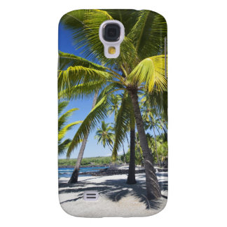 Palm trees, National Historic Park Pu'uhonua o Galaxy S4 Case
