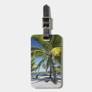 Palm trees, National Historic Park Pu'uhonua o Luggage Tag