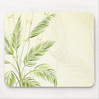 Palm Trees on Bamboo Forest | Mousepad