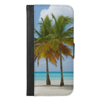 Palm Trees On Beach Phone Wallet