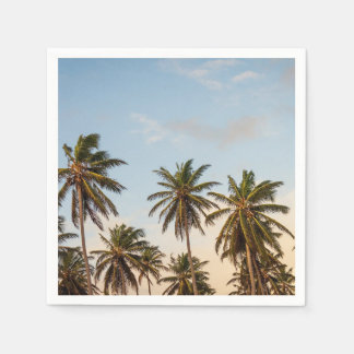 Palm Trees Paper Napkin