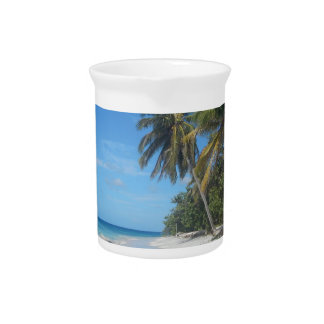 Palm Trees Pitcher
