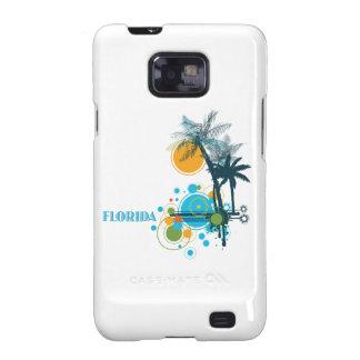 Palm Trees Sun Circle FLORIDA Samsung Galaxy S2 Cases