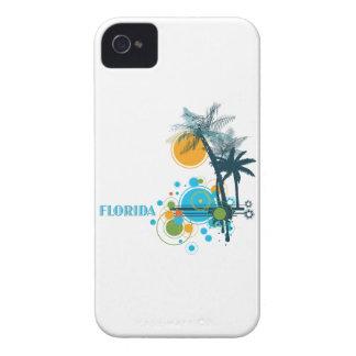 Palm Trees Sun Circle FLORIDA iPhone 4 Cover
