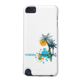 Palm Trees Sun Circle FLORIDA iPod Touch 5G Cover