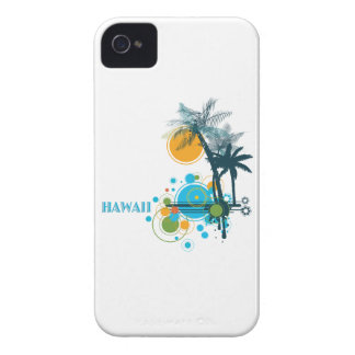 Palm Trees Sun & Circles HAWAII Case-Mate iPhone 4 Cases