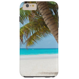 Palm Trees Tropical Beach Tough iPhone 6 Plus Case