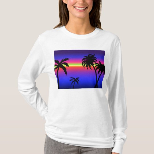 Palm Trees Tropical Sunset Shirt