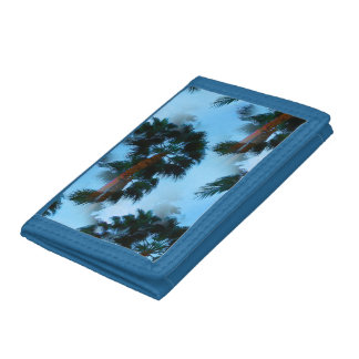 Palm trees wallet