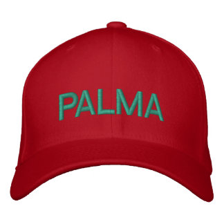 Palma Cap Embroidered Baseball Caps