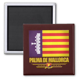 Palma de Mallorca Square Magnet