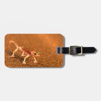 Palmatogecko On Sand Dune, Swakpomund, Erongo Luggage Tag