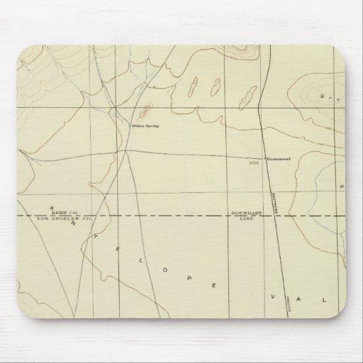 Palmdale quadrangle showing San Andreas Rift Mouse Pad
